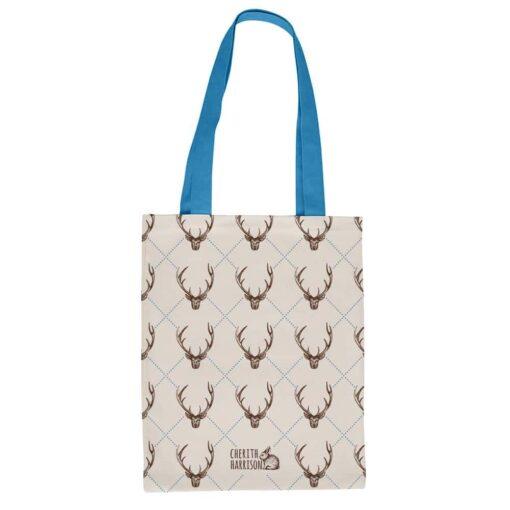 Stag Canvas Eco Shopper Bag by Cherith Harrison