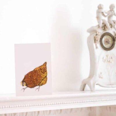 Mother Hen Card