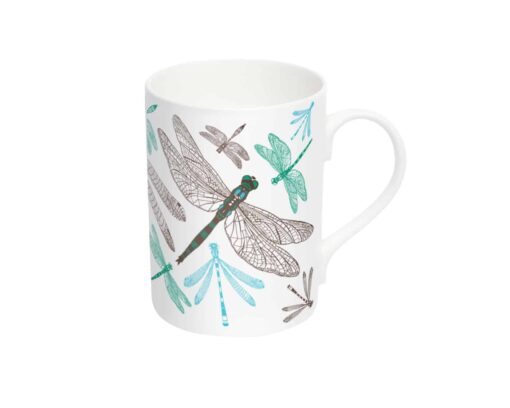 Dragonfly Mug by Cherith Harrison