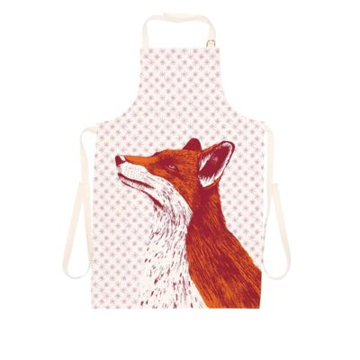 Animal apron with fox design by Cherith Harrison