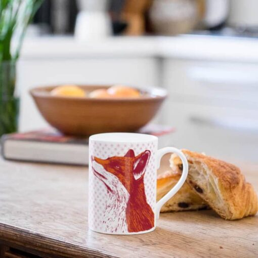 Fox Mug by Cherith Harrison