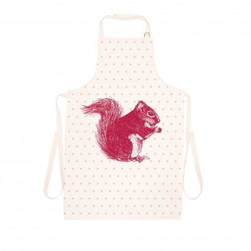 Red Squirrel Apron