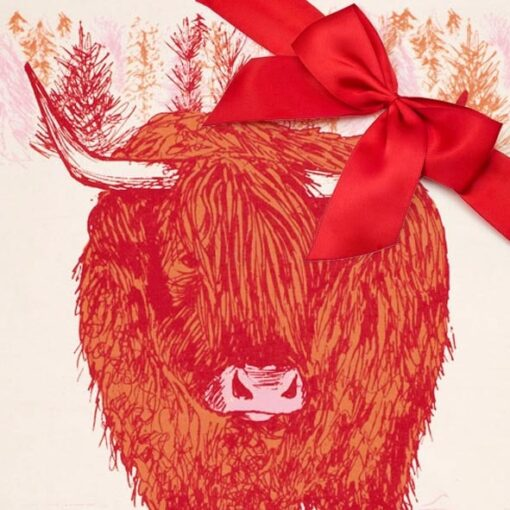 Highland Cow Gift set by Cherith Harrison