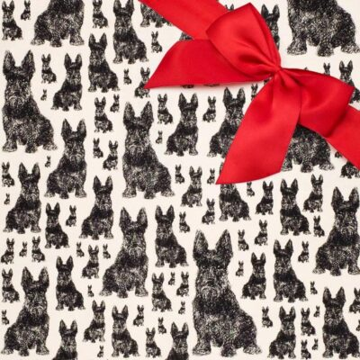 Scottie Dog Gift set by Cherith Harrison