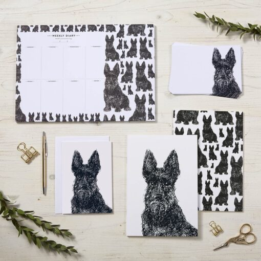 Scottie Dog Stationery Set by Cherith Harrison
