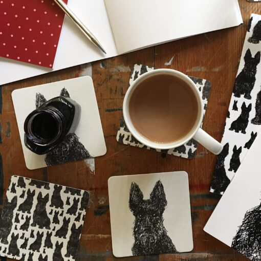 Scottie Dog Coasters by Cherith Harrison