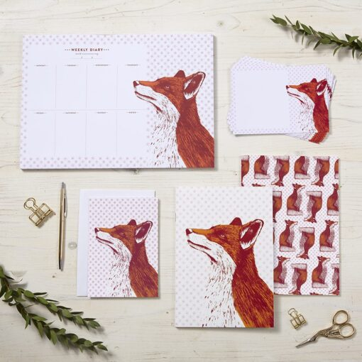 Fancy Fox Stationery by Cherith Harrison