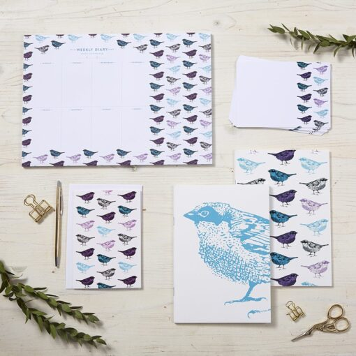 Chirpy Sparrow Stationery