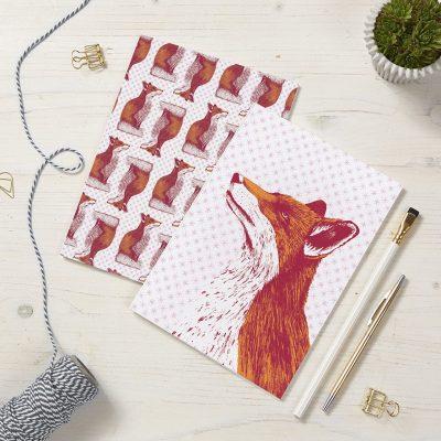 Fancy Fox Notebooks