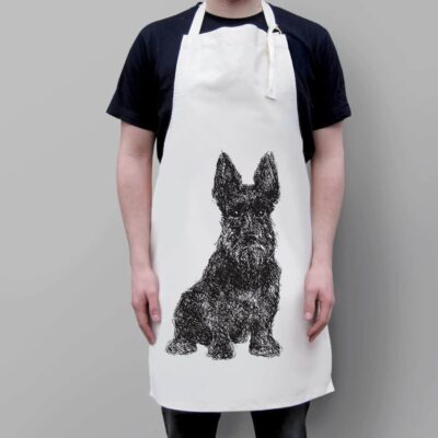 Loyal Scottie Dog Apron