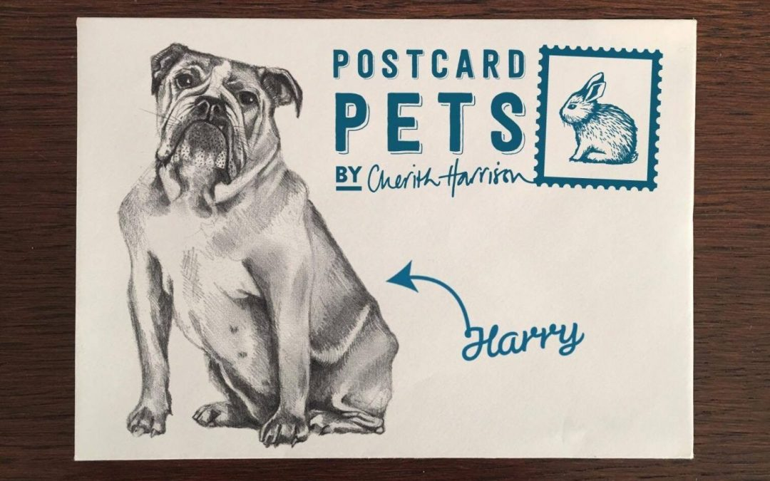 Postcard Pets by Cherith Harrison