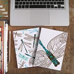 Dynamic Dragonfly Notebook