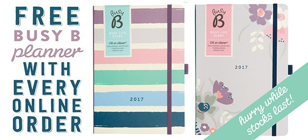 Free Busy B 2017 Planners