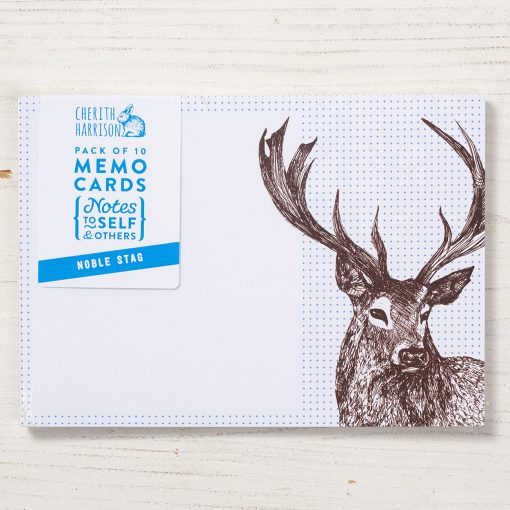 Stag Note Cards by Cherith Harrison