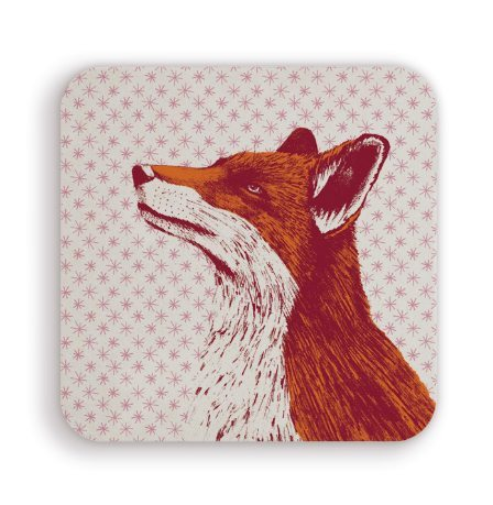 Fancy Fox Coaster by Cherith Harrison