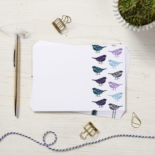 Chirpy Sparrow Note Cards by Cherith Harrison