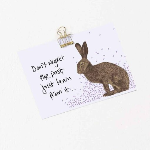 Humble Hare Note Cards by Cherith Harrison