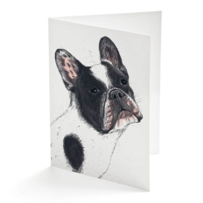 French Bulldog Card by Cherith Harrison