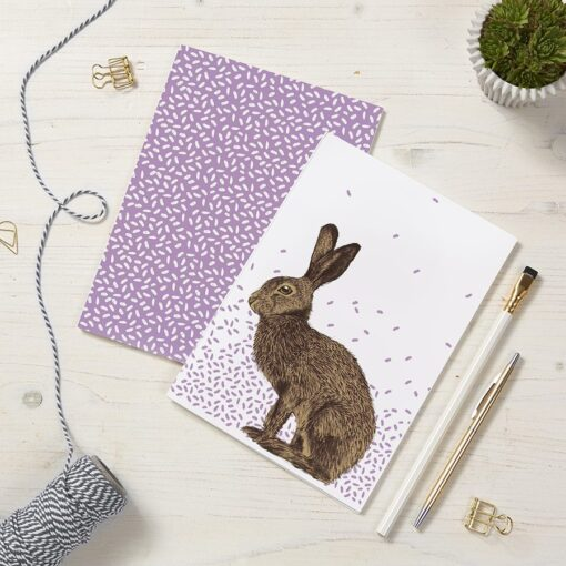 Hare Notebooks by Cherith Harrison