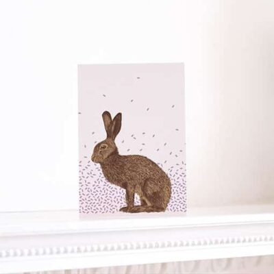 Humble Hare Card by Cherith Harrison