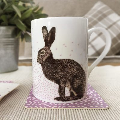 Hare Mug by Cherith Harrison