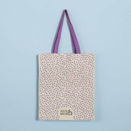 Hare Tote Bag by Cherith Harrison