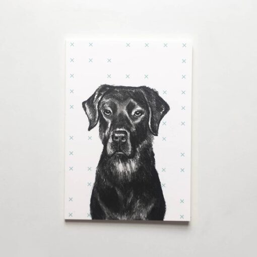 Black Labrador Notepads by Cherith Harrison
