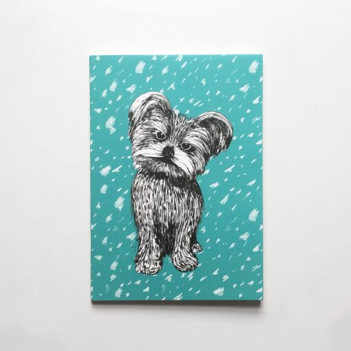 Yorkshire terrier notepads by Cherith Harrison