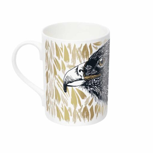 Great Golden Eagle Mug by Cherith Harrison