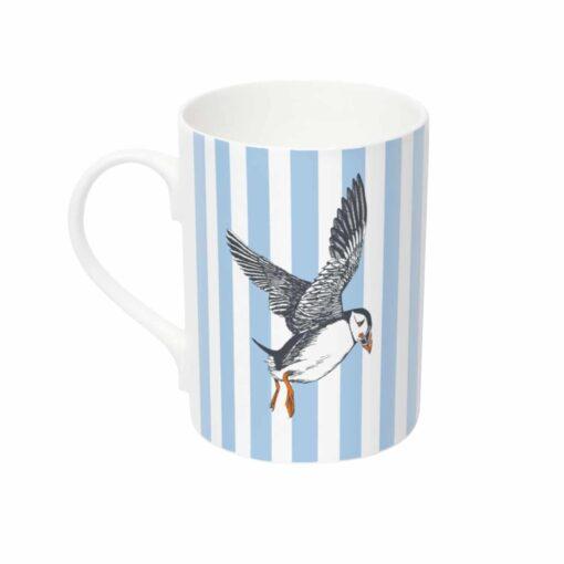 Puffin mug by Cherith Harrison