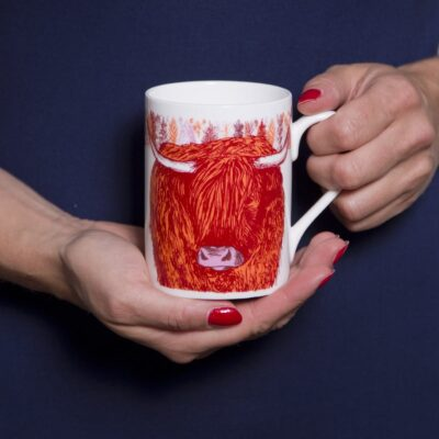 Highland Cow Mug by Cherith Harrison