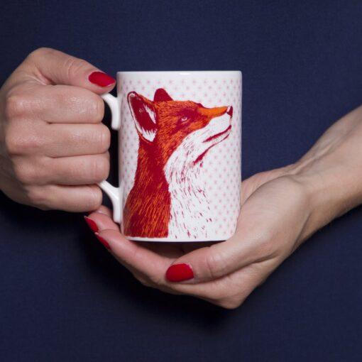 Fox Mug by Cherith Harrison