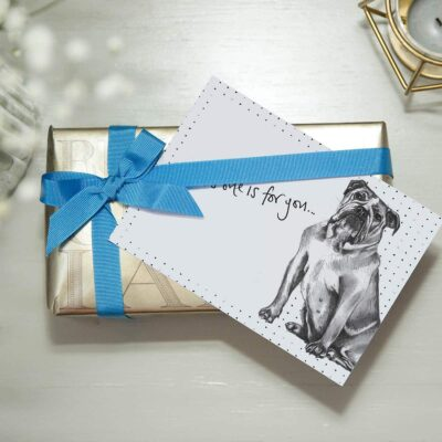 British Bulldog Note Cards by Cherith Harrison