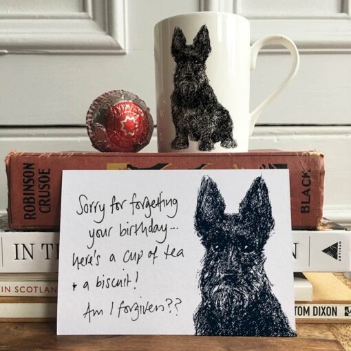 Scottie dog Note Cards by Cherith Harrison
