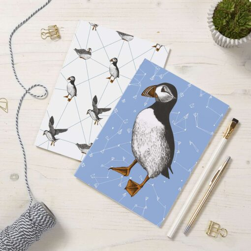 Puffin Notepads by Cherith Harrison