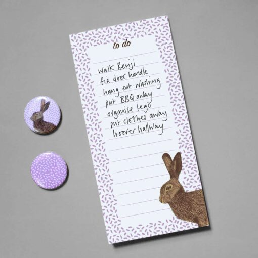 Hare To Do List by Cherith Harrison