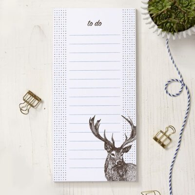 Stag To Do List by Cherith Harrison