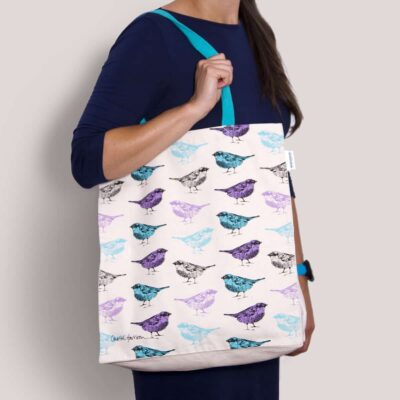 Bird tote bag by Cherith Harrison