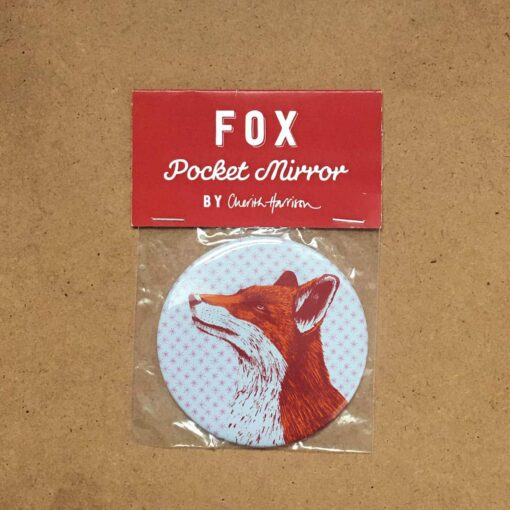 Fox Pocket Mirror by Cherith Harrison