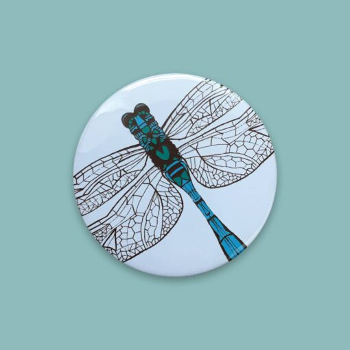 Dragonfly Pocket Mirror by Cherith Harrison