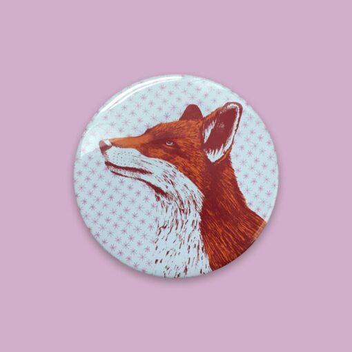 Fox Pocket Mirror by Cherith Harrison