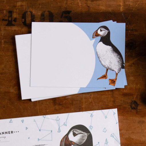 Puffin Note Cards by Cherith Harrison