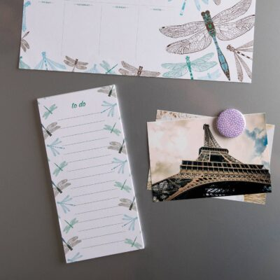 Dragonfly To Do List by Cherith Harrison