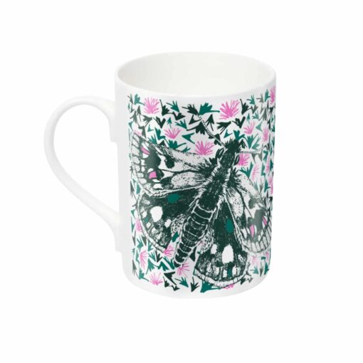 Butterfly mug by Cherith Harrison