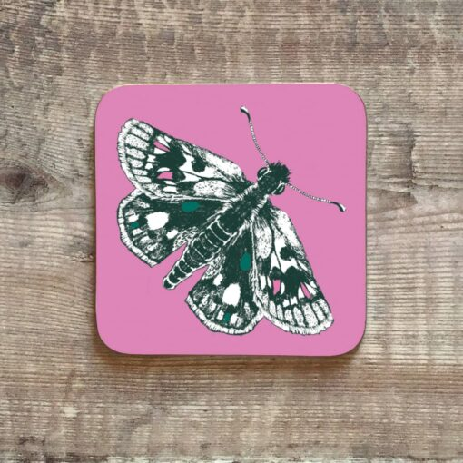 Butterfly Coaster by Cherith Harrison