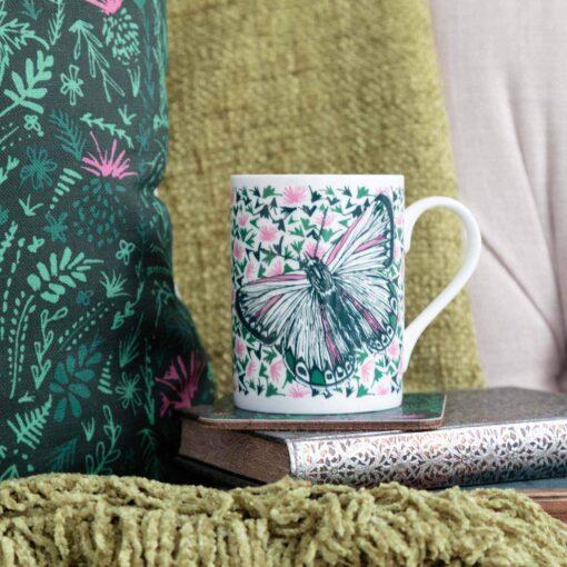 Butterfly mug by Cherith Harrison