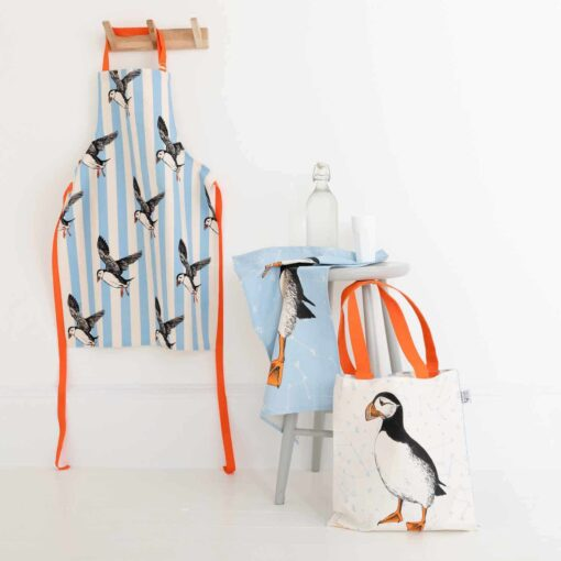 Nautical puffin collection by Cherith Harrison