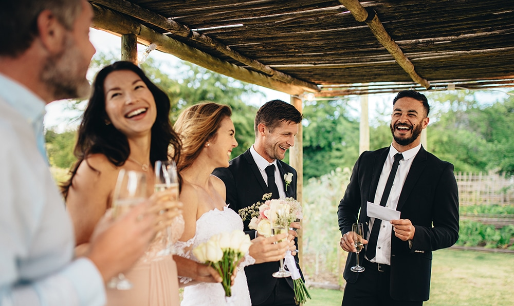 How to deliver the best wedding speech ever