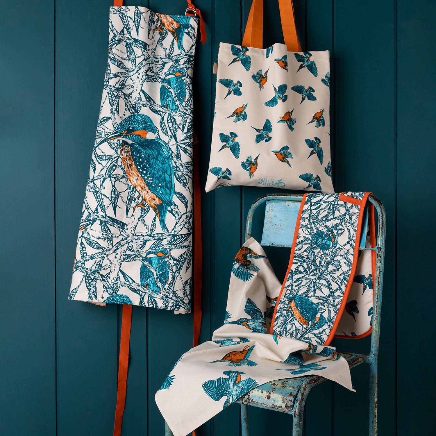 Kingfishers Kitchen Collection by Cherith Harrison