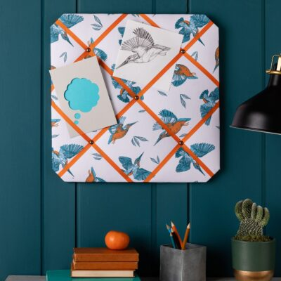 Kingfishers Notice Board by Cherith Harrison